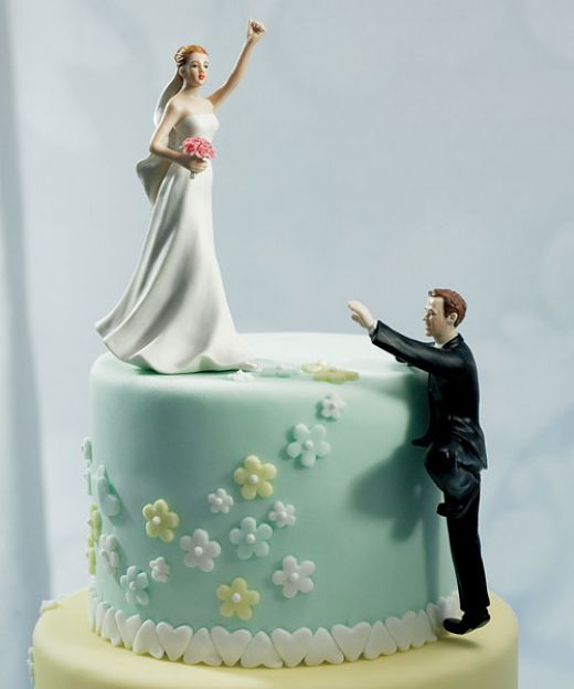 Wedding cake topper I married up No doubt about it and I 39m not afraid to