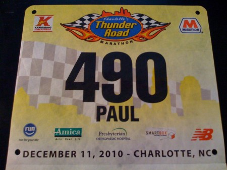Thunder Road Bib